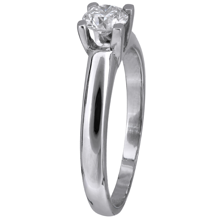 Λευκόχρυσο δαχτυλίδι με μπριγιάν D011574 - Dimasis.gr 2c77be8c96c