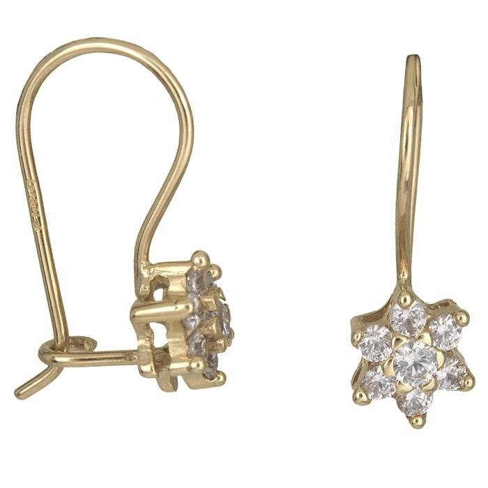 ... Χρυσα σκουλαρικια κρεμαστα Κ14 D010934. -20%. Μεγέθυνση εικόνας b24abce68ee