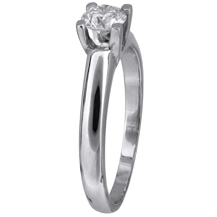 Λευκόχρυσο δαχτυλίδι με μπριγιάν D011574 - Dimasis.gr 925b1d019eb