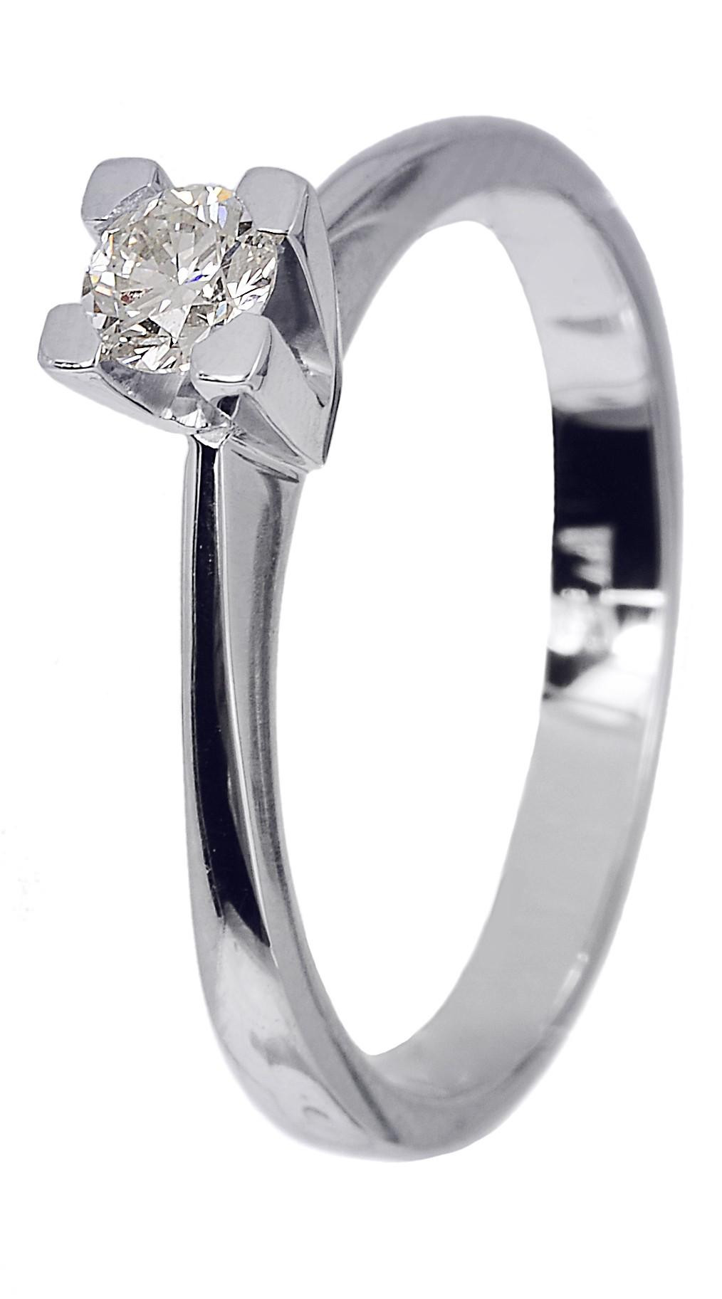 Μονόπετρο δαχτυλίδι αρραβώνα με μπριγιάν D018740 - Dimasis.gr 2822ac796e2