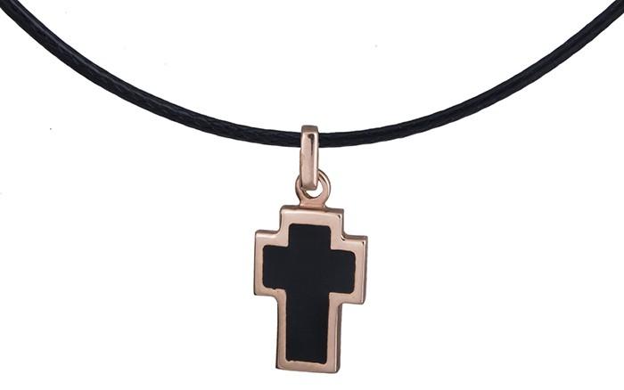 Ροζ χρυσός σταυρός Κ14 D017478 - Dimasis.gr b0688af302f