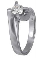 Μονόπετρο δαχτυλίδι με brilliant D001452 D001452