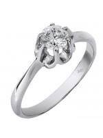 Λευκόχρυσο μονόπετρο δαχτυλίδι Κ9 D013810 D013810 Λευκόχρυσο μονόπετρο  δαχτυλίδι Κ9 D013810 f37f54180b5