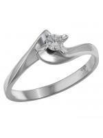 Μονόπετρο δαχτυλίδι Κ18 D014392 D014392