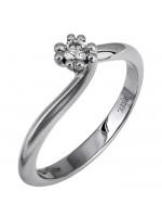 Δαχτυλίδι αρραβώνα Κ18 με brilliant D018362 D018362