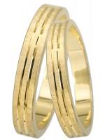 Χρυσές 14Κ Βέρες γάμου DBR0427K DBR0427K