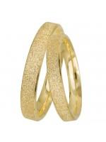 Βέρες πλακέ διαμανταρισμένες χρυσές 9 Καρατίων D9BRS0914K D9BRS0914K