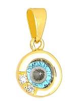 Ματάκι Χρυσό Κ14 Στρόγγυλο D000101 D000101