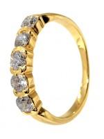 Χρυσό δαχτυλίδι Σειρέ 14 καρατίων D001958 D001958