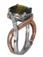 Δαχτυλίδι δίχρωμο 14K D006353 D006353