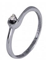 Μονόπετρο δαχτυλίδι Κ18 με διαμάντι μπριγιάν D007400 D007400