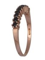Ροζ χρυσό χειροποίητο δαχτυλίδι 14K D013154 D013154
