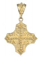Χρυσό Κωνσταντινάτο 14 Καρατίων σταυρός D013854 D013854