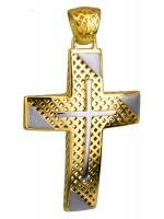 Βαπτιστικός σταυρός για αγόρι Κ14 D014723 D014723