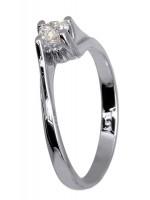 Μονόπετρο δαχτυλίδι Κ18 με διαμάντι D015953 D015953