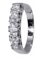 Λευκόχρυσο δαχτυλίδι Κ18 D016102 D016102