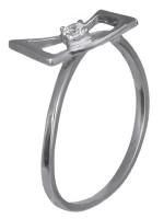 Δαχτυλίδι μονόπετρο D016281 D016281