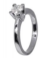 Μονόπετρο δαχτυλίδι μπριγιάν 18Κ D018998 D018998