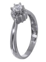 Μονόπετρο δαχτυλίδι με ζιργκόν Κ14 D020049 D020049