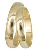 Χρυσές βέρες γάμου Κ14 D022333 D022333