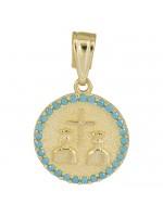 Χρυσό Κωνσταντινάτο για αγοράκι 14Κ D025156 D025156