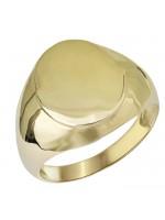 Χρυσό σεβαλιέ δαχτυλίδι Κ14 D027957 D027957