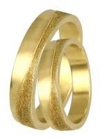 Χρυσό σετ βέρες 14Κ DBR0324 DBR0324
