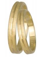 Βέρες χρυσές γάμου Κ14 DBR0429 DBR0429