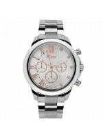 Ρολόι JCou South Coast Stainless Steel Bracelet Silver JU15041-2 JU15041-2