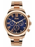 JCou South Coast Multifunction Rose Gold/Blue JU15041-4 JU15041-4