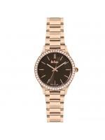 Γυναικείο ρολόι Lee cooper Rose gold Bracelet and Crystals LC06303.440 LC06303.440