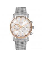 Αντρικό ρολόι Lee cooper Silver bracelet chronograph LC06356.530 LC06356.530