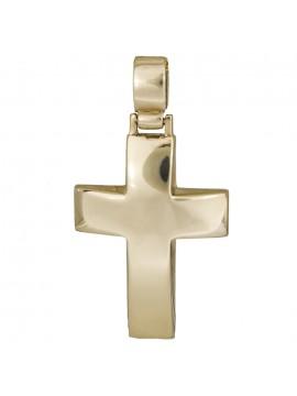 Χρυσός 9Κ σταυρός βάφτισης D012486 D012486
