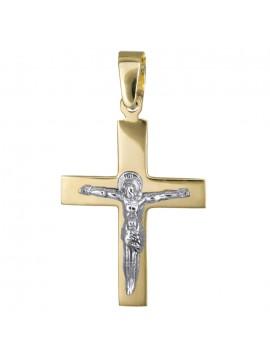 Αντρικός κλασικός σταυρός με τον Εσταυρωμένο Κ14 D010805 D010805