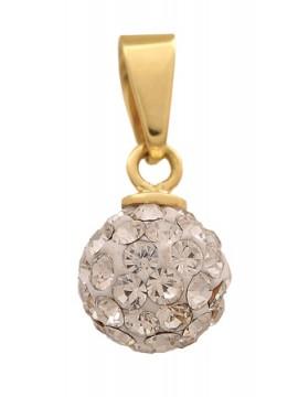 Κρεμαστό Χρυσό Κ14 Μπίλια D002349 D002349