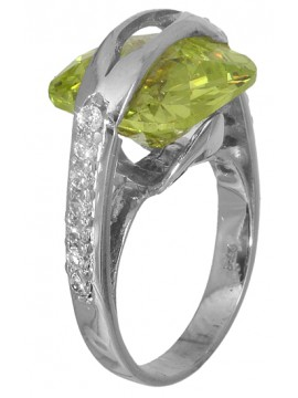Δαχτυλίδι λευκόχρυσο 14K D006306