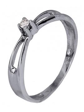 Δαχτυλίδι με μπριγιάν D007354 D007354