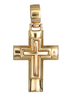 Χρυσός σταυρός Κ9 D014140 D014140