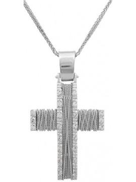 Συρματερός σταυρός για κορίτσι Κ9 DC015042
