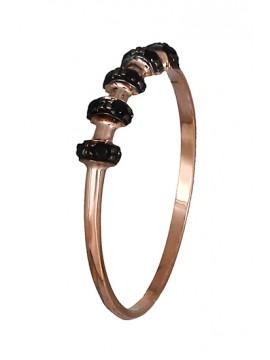 Δαχτυλίδι 14Κ πετράτο ροζ gold D019111 D019111