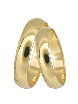 Κλασικές βέρες γάμου από χρυσό Κ14 D024058 D024058