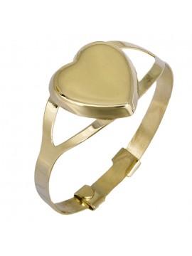 Παιδικό χρυσό δαχτυλίδι καρδούλα Κ9 D025207 D025207