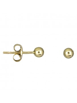 Παιδικά σκουλαρίκια χρυσές φουσκίτσες Κ9 D025418 D025418