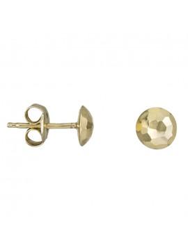 Χρυσά γυναικεία σκουλαρίκια 9Κ D026068 D026068