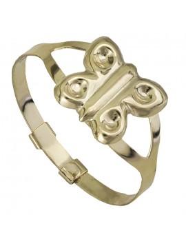 Παιδικό χρυσό δαχτυλίδι Κ9 πεταλούδα D026832 D026832