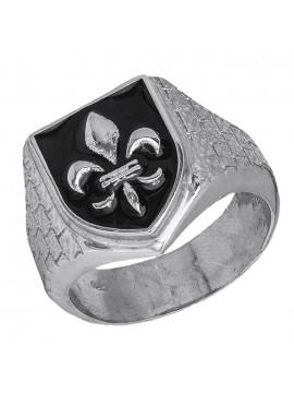 Ασημένιο ανδρικό δαχτυλίδι 925 Σεβαλιέ D026934 D026934