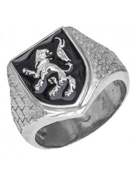 Ανδρικό Δαχτυλίδι Σεβαλιέ 925 D026936 D026936