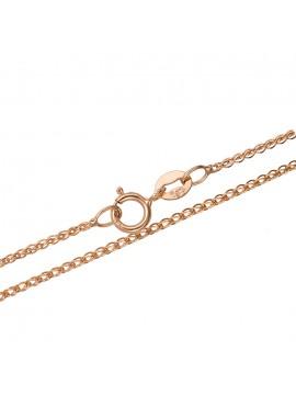 Γυναικεία ροζ gold καδένα 14 καρατίων D027719 D027719