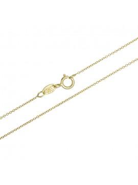 Γυναικεία χρυσή αλυσίδα λαιμού Κ18 D029213 D029213