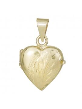 Γυναικείο χρυσό κρεμαστό 14Κ καρδιά D030262 D030262